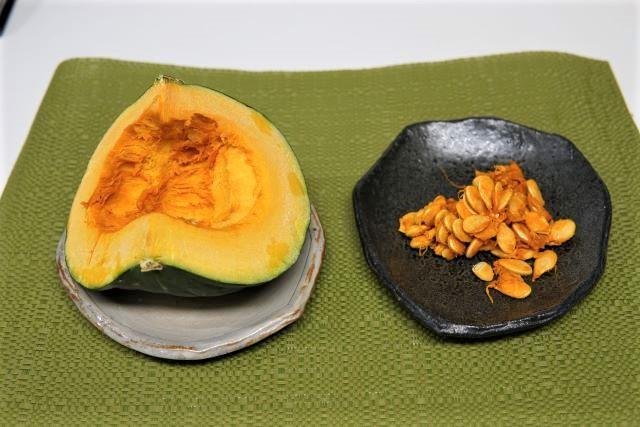 かぼちゃとかぼちゃの種