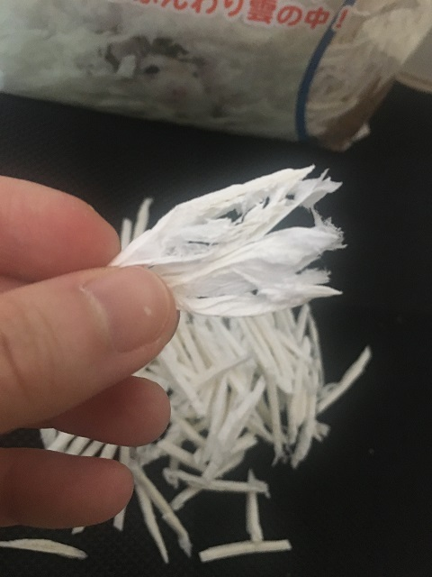 ハムスターの床材 紙素材「ケアペーパー」(SANKO)